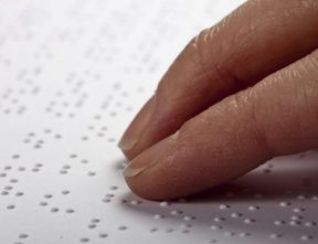 Braille cover