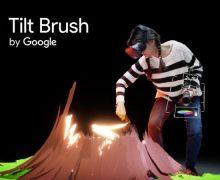 Google reinventeaza desenul cu Tilt Brush
