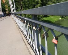 """Podul iubirii din """"orasul fermecat"""""""